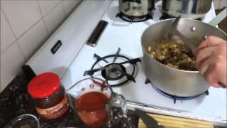 Фасоль с Мясом По Египетски Egyptian Green Beans with Meat in Tomato Sauce