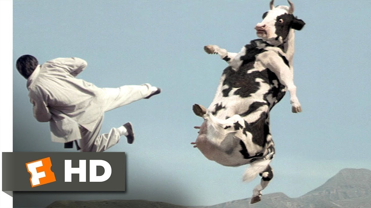 Download Kung Pow Enter the Fist (4/5) Movie  Cow Fight (2002) HD