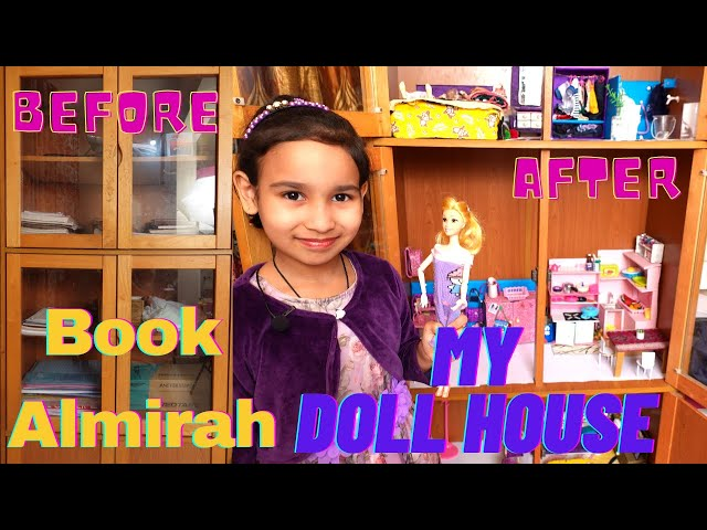 How I convert a Book Almirah to my Barbie Doll House | #LearnWithPari