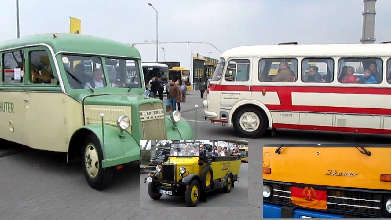 100 jahre bus in dresden oldtimer im betriebshof mitfahrt im konvoi durch die innenstadt. Black Bedroom Furniture Sets. Home Design Ideas