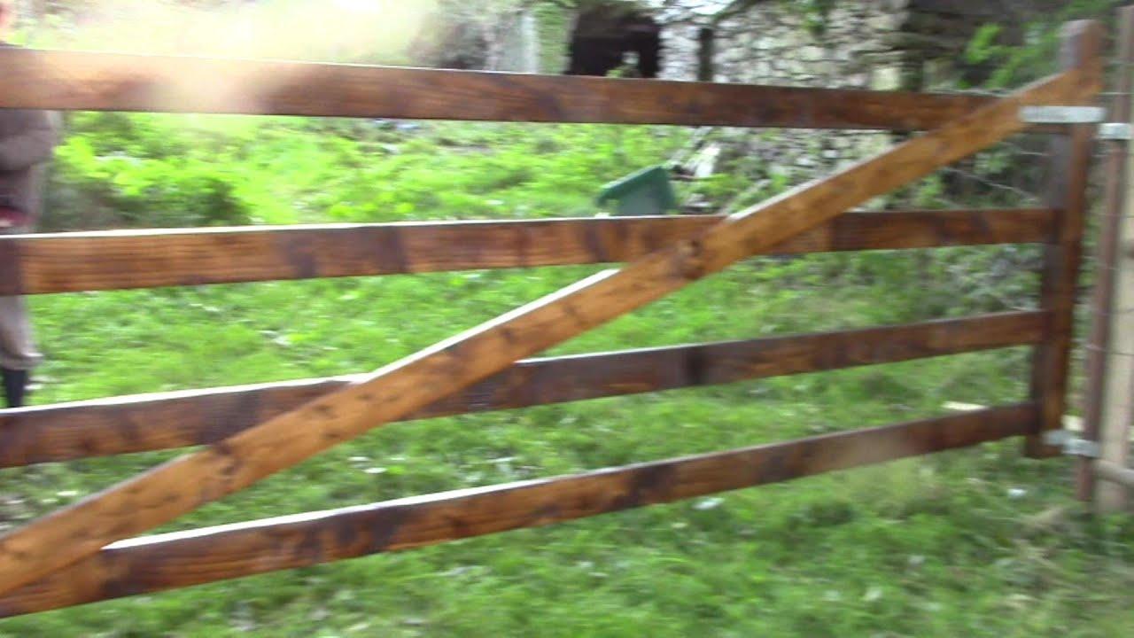 Wooden Gate Plans