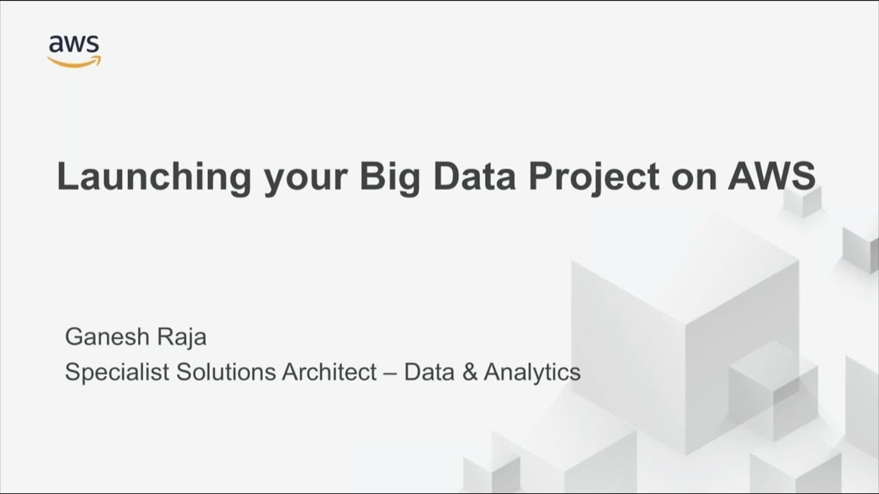 Launching Your Big Data Project on AWS