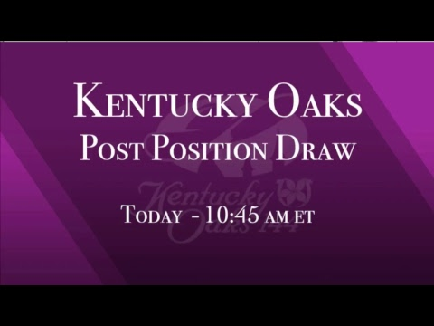Kentucky Derby and Oaks Morning Works Show