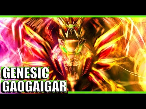 GENESIC GAOGAIGAR (El padre de GURREN LAGANN) | Los mas Poderosos del Anime