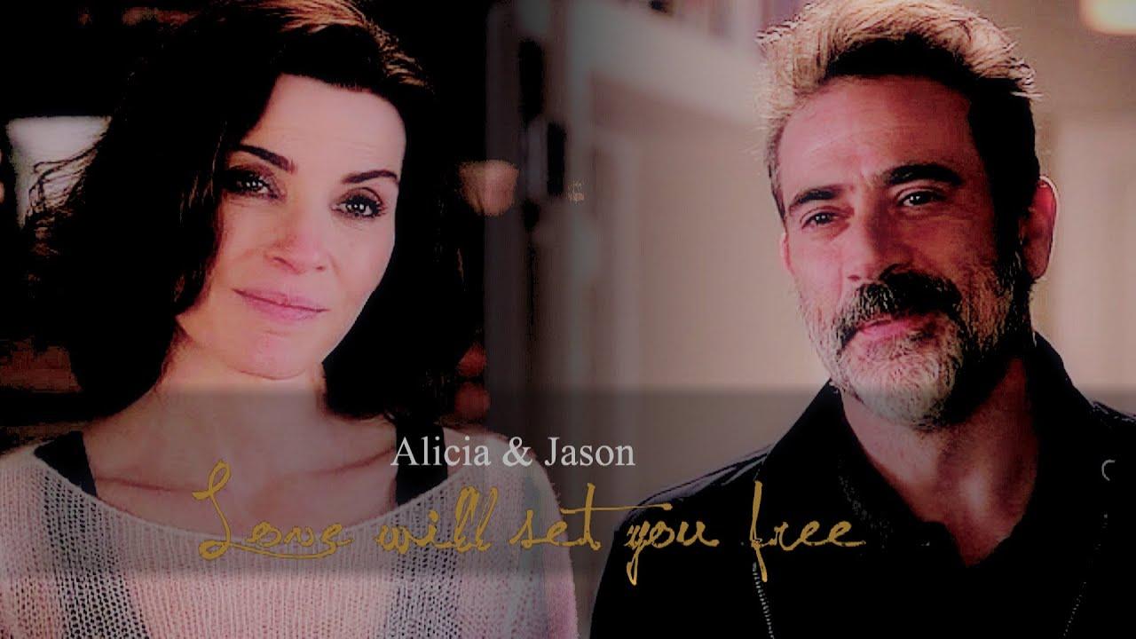 Alicia Smiles alicia florrick & jason crouse | love will set you free