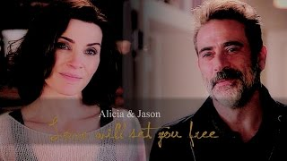 Alicia Florrick & Jason Crouse | Love will set you free