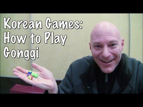 Korean Games: How to Play Gonggi
