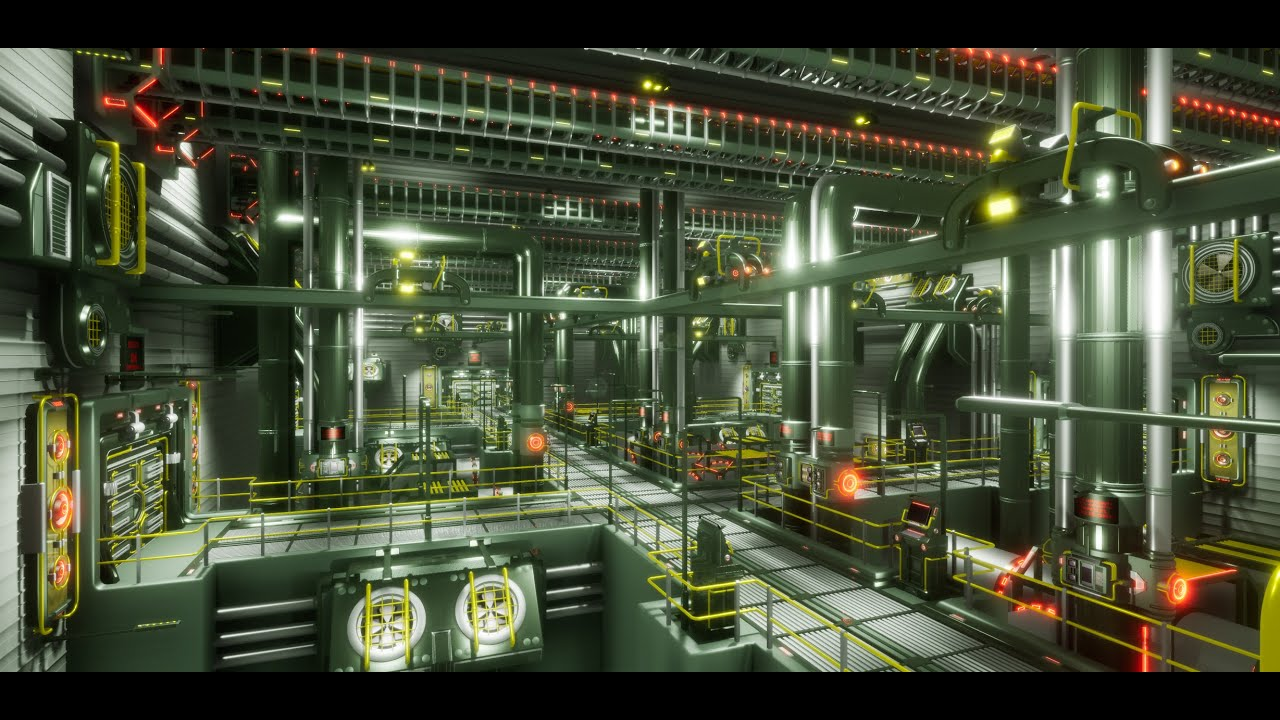 Unreal Engine 4 Ghost In The Shell Akira Environment Youtube