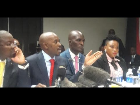 WATCH | MDC President NELSON CHAMISA Testimony At The Motlanthe Commission Of Inquiry | PART 1