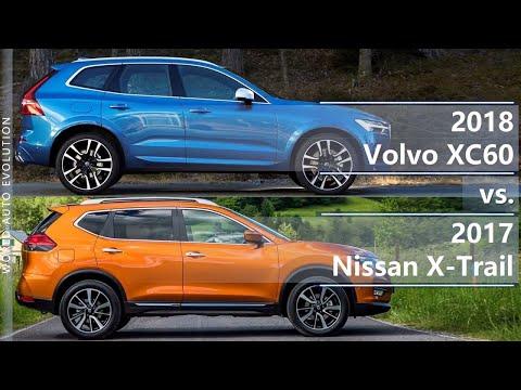 2018 Volvo XC60 vs 2017 Nissan X-Trail (technical comparison)