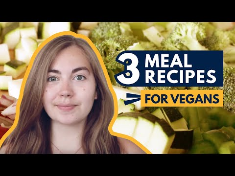 3 Vegan Meal Recipes | University of Lincoln