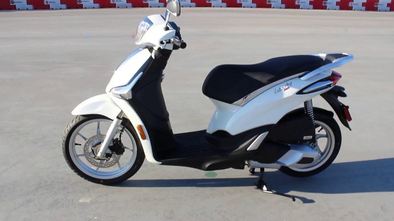 go az motorcycles 2017 piaggio liberty 150 - youtube