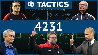 FM Tactics -  How to build a 4231 - Football Manager 2017