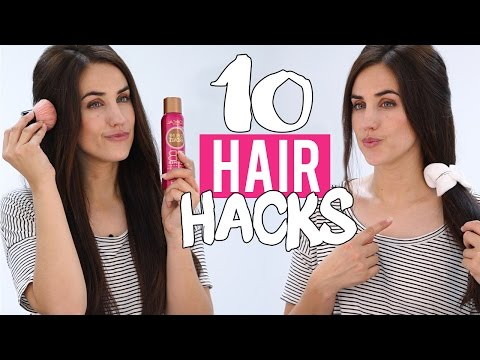 how to straight cut your own hair