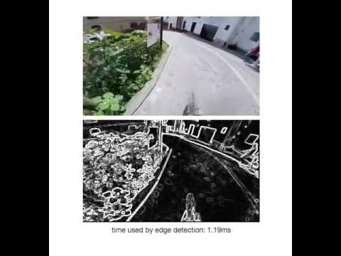 video edge detection by sobel filter