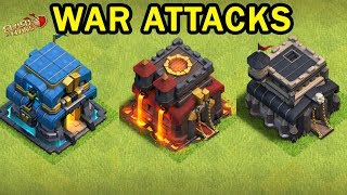 🔴Live Clan War Action TH 9,10,12