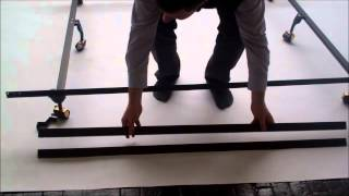 Sealy Posturepedic Bed Frame Set-up Instructions