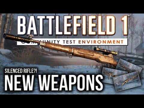 New Weapon Variants Silenced Sniper?! | BATTLEFIELD 1