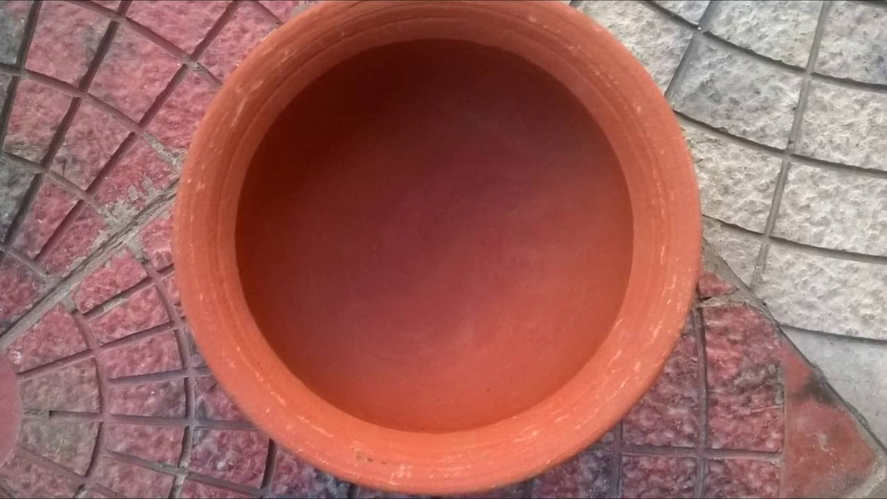 How To Cure/Season/Prime An Indian Clay/Mud Pot Before First Use