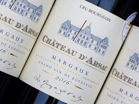 Chateau D Arsac 2016, Margaux,  Bordeaux Wein, Bordeaux Wine,  Rotwein, Wine Enthusiast: 92-94/100