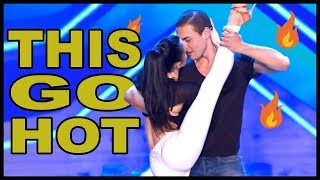"Top 7 ""MOST ROMANTIC & SEXY"" Dances On Talent Shows In The World!"