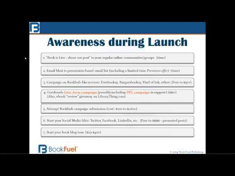 Marketing Your Book: The Launch Phase / Self-Publishing Webinar