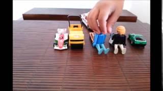 Carrinhos de brinquedo - carros - carro de policia - rolo compressor - carro corrida -  toys car