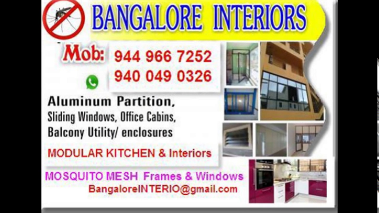 BANGALORE KITCHENS & HOME INTERIORS -9449667252 LOW COST ...