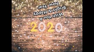 Happy New year 2020 Best Whatsapp Status Wishes Greetings message Countdown Quotes image