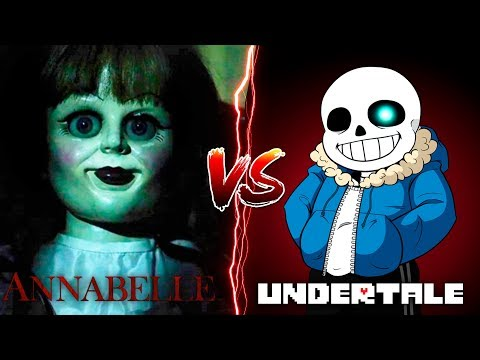 Minecraft EVIL ANNABELLE VS SANS FROM UNDERTAIL - WHO IS THE SCARIEST?? Donut the Dog