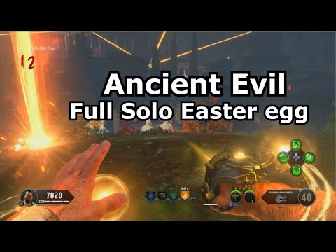 Ancient Evil Full Solo Easter Egg Speedrun