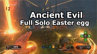 Ancient Evil Full Solo Easter Egg Speedrun