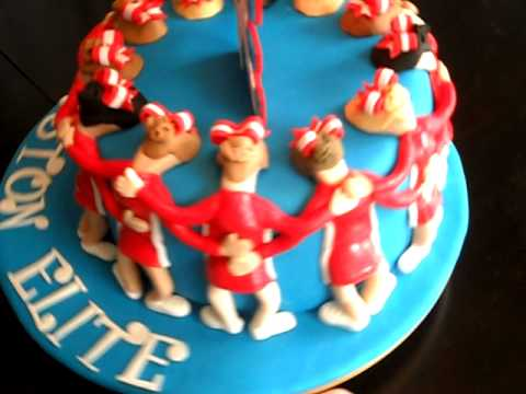 Cheerleader Birthday Cake Images
