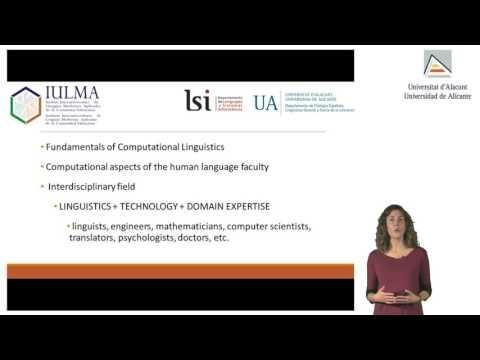 38610 Computational Linguistics