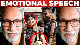 SATHYARAJ Emotional Speech | Kausalya, Shakthi Marriage