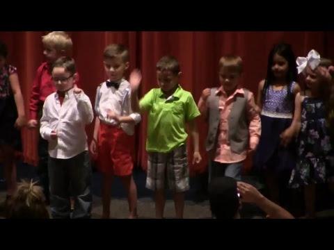 Gravette Kindergarten Graduation 2018