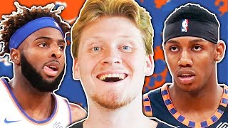 REBUILDING THE NEW YORK KNICKS! NBA 2K20