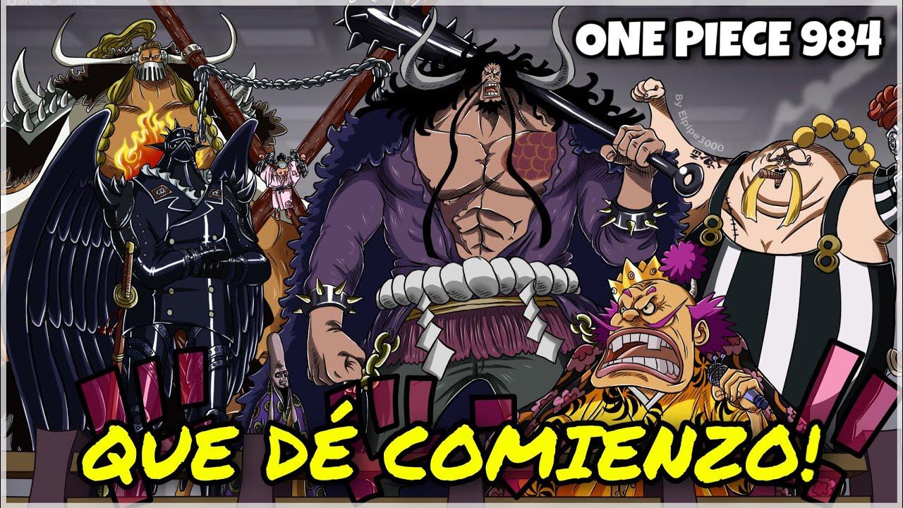 ONE PIECE 984 - TODO PREPARADO PARA LA GUERRA
