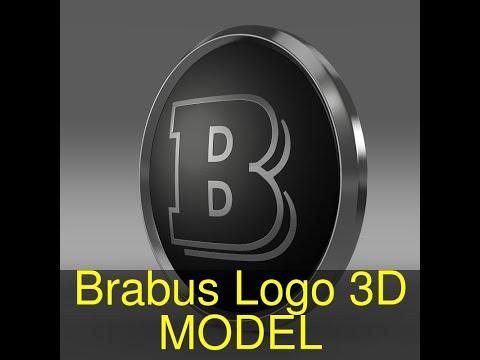 3D Model of Brabus Logo Review