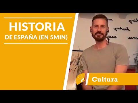 ¿Te gusta la historia? ¡Conoce la de España en 5 minutos! - LAE Madrid Spanish Language School
