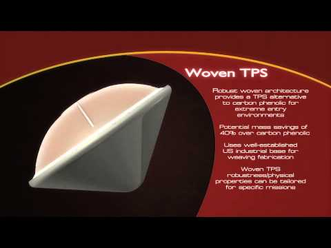 Woven Thermal Protection System (Woven TPS) for Extreme Entry Environments