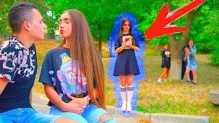 Девочка - ПРИЗРАК ПРЕСЛЕДУЕТ Диану!!
