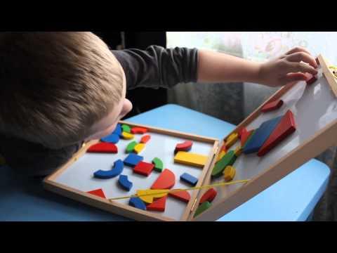 Конструктор.Магнитный конструктор.Аналог DJECO Игры для детей.