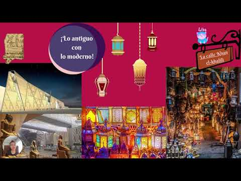 Spanish Video Presentation - Simple tour guide of Cairo and El-Rehab