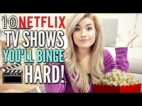 🎬 NETFLIX TV SHOWS TO BINGE WATCH IN SPRING/ SUMMER 2018 | LoveMeg