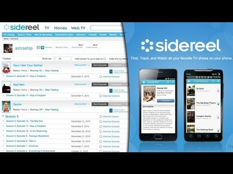 how to watch videos on sidereel
