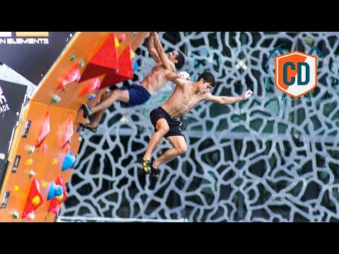 Racing To the Top Of The Psicobloc: Marseille Finals | Climbing Daily Ep.1010