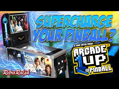 Supercharge Your Arcade1Up Star Wars Pinball!!! from Retro Ralph