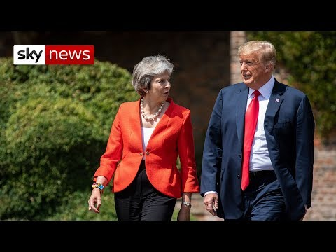 Trump and May hold press conference