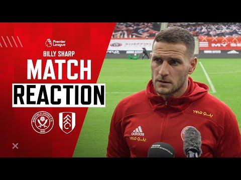 Billy Sharp | Match Reaction | Sheffield United 1-1 Fulham